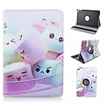 Special Design Novelty Cotton Candy PU Leather Folio Case Holster 360⁰ Case for iPad mini  4