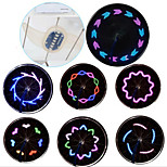 12-Patterns Bicycle Wheel Lights Spoke Light Cycling Warning Light