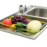 The New Kitchen Shelving Rack Drain Vegetables,Assorted Color