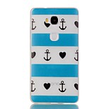 Article Blue Heart Luminous Dream Catcher Pattern Sofe TPU Case for Huawei Honor 5X