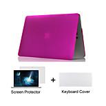 matte Kunststoff Ganzkörper-Fall + tpu Tastaturabdeckung + Displayschutzfolie für MacBook Air 11