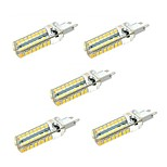 5pcs E14 G9 64LED 2835SMD 5W 350LM 3000K/6000K Warm White/Cool White Light Lamp Bulb(AC200-240V)