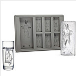 Star Wars Ice Tray Han Solo In Carbonite Ice tray Silicone Jelly Chocolate Cake