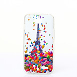 Balloon Tower Pattern TPU+IMD Soft Case for LG L90/H422/H502