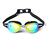 YUKE®Anti-Fog,Adjustable Size,Anti-Wear for Unisex Silica Gel(Frames) PC(Lens) Swimming Goggles