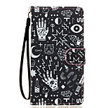 Confusion Pattern PU Leather Full Body Case with Stand for Wiko Fever