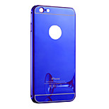 Electroplate Mirror Transparent Pc With Back Case For Iphone6/6s(Assorted Colors)