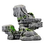 Nachahmung herrliche Landschaft rockery Harzmaterial Ornament Dekoration für Aquarium