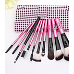 Brush Set 10Pcs High-End Cosmetic Brush Beauty Tools