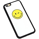Cartoon Smiley Blink Silicone Wrapping Back Cover for iPhone6/iPhone 6s(Assorted Colors)