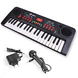 Electronic Organ Random  Plastic Red / Black / White Music Toy For Kids