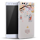 Flowers Heart Cage Birds Soft Protective Back Cover Ultra Thin Huawei Case for Huawei Ascend P9