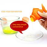 New Kitchen Small Silica Gel Creative, Egg Yolk Separator
