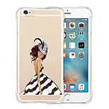 Queen's Favorites Soft Transparent Silicone Back Case for iPhone 5/5S(Assorted Colors)