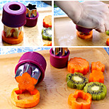 8Pcs Stainless Steel Mould Flower Star Fruit Vegetable Mold Cutting Slice Cook