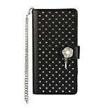 Luxury Diamond Bling Wallet PU Leather Case Cover for Sony Xperia Z5