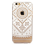 Retro Flower Painted Pattern Hard Plastic Back Cove For iPhone6/6S 4.7