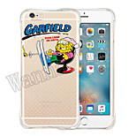 Cartoon Animal Soft Transparent Silicone Back Case for iPhone 6/6s (Assorted Colors)
