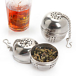 Ball Soup Pot Spice Tea Strainer Drain