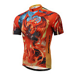 XINTOWN Phoenix Cycling Clothing Bike Bicycle Short Sleeve Cycling Jersey