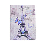 The Eiffel Tower Around Flowers Open Holster for ipad air 3 / ipad 7