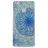 Blue and white Pattern TPU Phone Case For Huawei Ascend P9 / P9 Lite