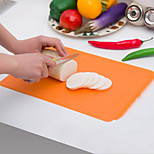 Ultra-thin Antimicrobial Resistant Flexible Cutting Board Suspensibility Soft Classification Chopping Block Random Color