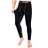 WOSAWE Long Jhons Only Tights Pant Base Layer Skins Running Run Fitness Excercise Bicycle Bike Pants Gear Clothing