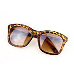 Sunglasses Women's Fashion Square Tortoiseshell Sunglasses Full-Rim