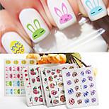 1pcs Nail Watermark Stickers