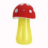 Home Decor Aroma LED Humidifier Mushroom Mist Discharge Air Diffuser Purifier Atomizer(Random Color)