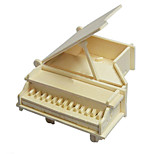 Little Piano Wood 3D Puzzles Diy Toys