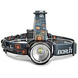 Torce frontali LED 3 Modo 2000 LumensMessa a fuoco regolabile / Impermeabili / Resistente agli urti / Compatta / Compatto / Emergenza /