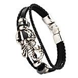 Scorpion Shape PU Men's Bracelet