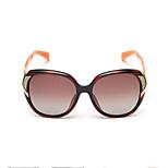Sunglasses Women's Fashion Polarized / 100% UV400 Oversized Orange / Tortoiseshell Sunglasses Full-Rim