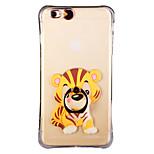 brillent dans le sud tigre chine foncé avec anneau de la main et la sangle pc retour cas pour iphone 6plus / 6splus 5.5