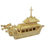 3D Puzzles Educational Toys Illustrations The Chinese Dragon Boat