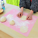 New Kitchen Roll Cut Mat Rolling Cutting Pad Fondant Cake Dough Clay Calibration