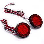 2X Red 18 Led Rear Bumper Light Lamp Bulb Reflector For 08-13 Toyota Sequoia