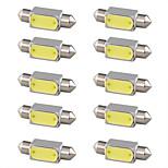 10 pc 3W bianco pannocchia alto potere ha condotto la lampada della lampadina del festone del camion auto luce 6000k