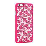 Retro Flower Pattern Openwork Relief Printing PC Material Phone Case for iPhone 6 PPlus /iPhone 6S Plus