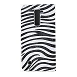 Zebra Pattern Magnetic PU Leather wallet Flip Stand Case cover for LG K10 / M2 F670
