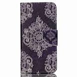Retro Blumen kreuzen strukturiertem Leder magnetischen Fall mit Ständer und Kartenslot für acer Flüssigkeit Z630 z630s