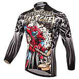 XINTOWN Angry Skull Style Bike Team Cycling Suits Long Jersey Long Sleeve
