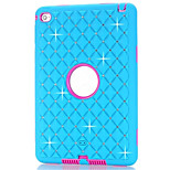 PC+Silicone All Over The Sky Star Back Cover Case For Ipad Mini 4 Shiny Design Cover Case