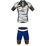 MYKING Men's Cycling Bike Short Sleeve Clothing Set Bicycle Wear Suit Jersey and Shorts Egyptian mummy