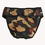 Cani Pantalone-Primavera/Autunno-Camouflage Classico-Rosso / Bianco / Blu / Rosa / Mimetico- diCotone / Terylene