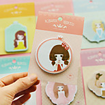 1PC Lovely Princess Sticker Cartoon Stickers Stickers