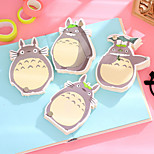 1PC My Neighbor Totoro Note This Creative Note This Lovely Rotating Notepad(Style random)