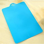 Soft Bendable Antibacterial Plastic Cutting Board,Assorted Color